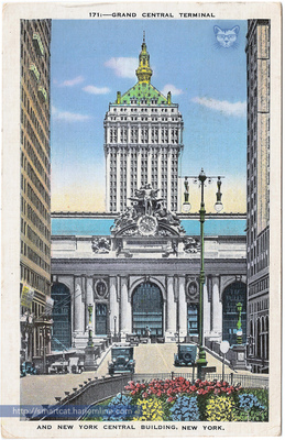 Grand Central and NY Central Building
