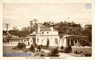 Bronxville Station and Hotel Gramatan