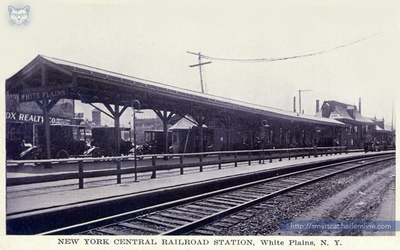 White Plains Station and Platform