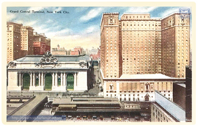 Grand Central and Commodore Hotel